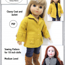 Classy Coat and Jacket Pattern SuzyMStudio