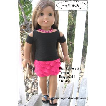 Free Bias Skirt Tutorial