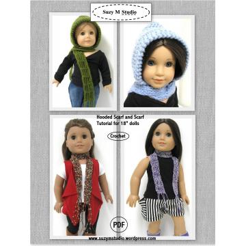 Free Hooded Scarf Tutorial - Crochet