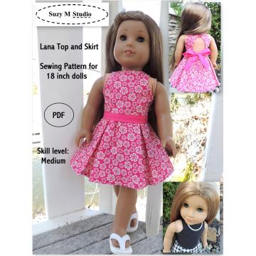 Lana Top and Skirt
