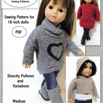 Slouchy Pullover and Variations