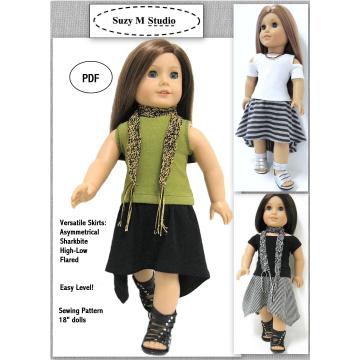 Versatile Skirts Four Styles